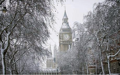 London in Winter