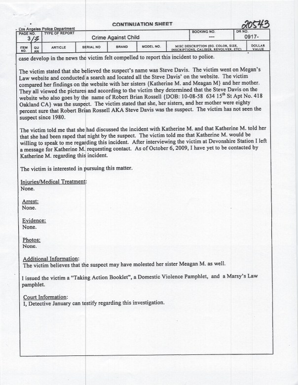 Page 3 lapd 2009 police report Devonshire:Northridge copy