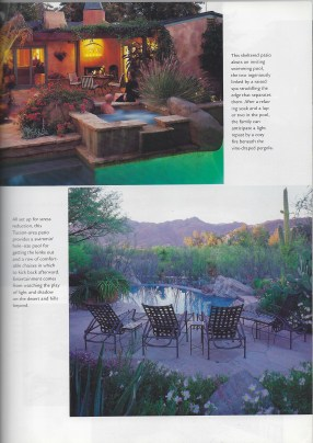 Family patios and courtyards southwest rock gardens 1
