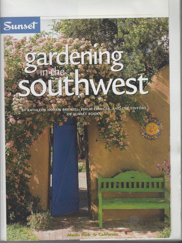 Gardening in the Southwest Editors credit menlo park california sunset books