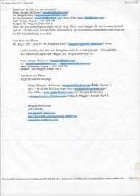 Maggie family email page 2 nora ackerley lawsuit 2011