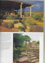 New Mexico porch rock gardens Southwest sunset magazine photos house ideas desert