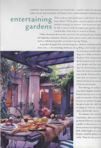 Patio table courtyard garden patio dinner lunch copy