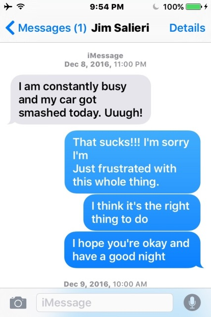 Ben Stein Jim Clemente car crash smashed texts - 15 copy